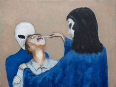 Hoboken artist David Huggins paints 'real' experiences as alien abductee Aliens And Ufos, Ancient Aliens, Ancient History, Alien Implants, Grey Alien, Alien Abduction, Alien Races, Alien Art, Weird Creatures