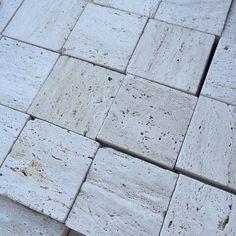 Natural Travertine cool deck Desert White
