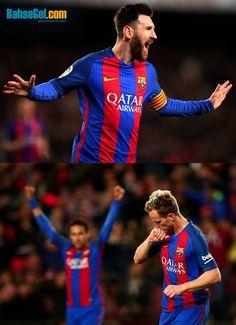 #Messi & #Neymar ikilisi ile Celta Vigo'yu 5-0 mağlup eden #Barcelona gözünü çarşamba günü oynanacak #PSG maçına çevirdi.