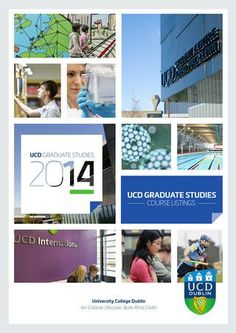 UCD Gradudate Studies uses Issuu for a digital publication University College Dublin, Content Marketing, Ireland, Graduation, Around The Worlds, Study, Teaching, Education, Digital