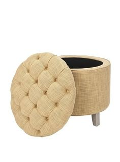 I have always wanted an ottoman or bench with secret storage.