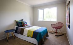 A funky teenagers room. Teenagers, Bed, Room, House, Furniture, Home Decor, Bedroom, Decoration Home, Stream Bed