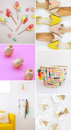 12 Colorful DIY Holiday Gifts