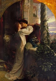 Frank Dicksee, Renaissance Kunst, Renaissance Paintings, Classic Paintings, Old Paintings, Aesthetic Painting, Aesthetic Art, Romeo And Juliet Drawing, Sculptures