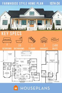 This 4 bedroom plan is full of beautiful details and on sale now!