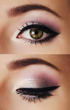 Evening makeup for Date http://pinmakeuptips.com/simple-trick-with-a-business-card/