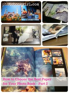 photo paper choices & which photobook co. to choose? http://www.photobookgirl.com/results/