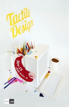 VCU AIGA Tactile Design Poster by Lauren Hayes, via Behance