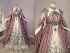 Firefly Path Rose Armor Gown as seen on Old Dress, Dress Up, Beautiful Gowns, Beautiful Outfits, Beautiful Images, Pretty Outfits, Pretty Dresses, Fantasy Gowns, Medieval Dress