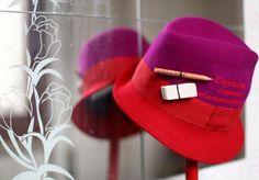 Pokemaoke... Cappello bicolore rosso con frase