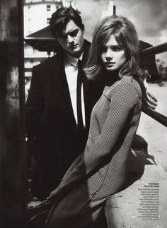 """MY GENERATION"" : NATALIA VODIANOVA : US VOGUE SEPTEMBER 2011 : MERT & MARCUS"