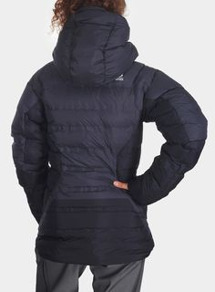 Kurtka The North Face Summit L6 Jacket Lady - asphalt grey/tnf black/tnf black