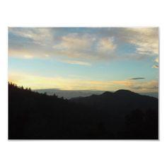 View of Mount Baldy from the San Bernardino Mountains.