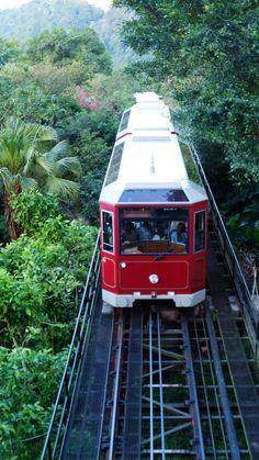Hong Kong Peak Tram Hong Kong, Train
