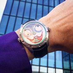 """Konstantin Chaykin on Instagram: """"Good morning BaselWorld. Today is last day of exhibition. We will be glad to see you next year! Thank you visiting and following us! Доброе…"""" Joker Watch, See You, Cool Watches, Good Morning, Luxury, Fun, Accessories, Instagram, Buen Dia"""