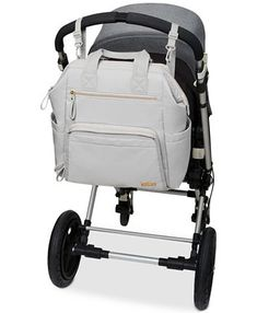 Skip Hop Mainframe Wide Open Diaper Backpack & Reviews - All Kids' Accessories - Kids - Macy's Diaper Bag Backpack, Backpack Straps, Insulated Siding, Backpack Reviews, Baby Diaper Bags, Large Diaper Bags, Changing Bag, Dillards, New Baby Products