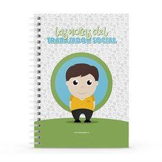 Cuaderno XL - Las notas del trabajador social, encuentra este producto en nuestra tienda online y personalízalo con un nombre. Notebook, Cover, Socialism, Notebooks, Report Cards, Store, Working Man, The Notebook, Exercise Book