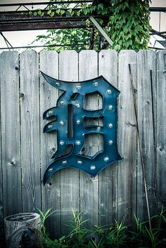 These marquee signs are hand crafted, made in Detroit.    Vintage Marquee Sign - Detroit Tigers D    This custom handmade and painted marquee