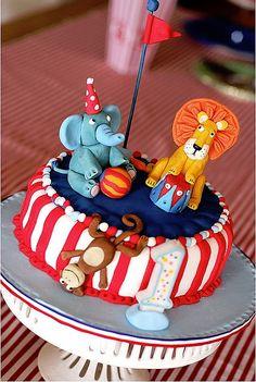 Cirkusový dort