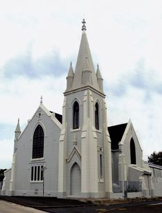 Gebou van die NG gemeente Rondebosch, Kaapland Church Pictures, Gothic Cathedral, Old Churches, Church Building, Place Of Worship, Old Buildings, Countries Of The World, South Africa, Cape Town