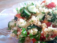 Tabhouli salad