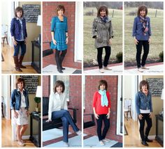 Fashion For Women Over 40-2014 Don't do skirts and dresses much but I would try these styles.