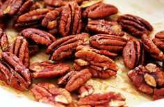 Salted Slow Roasted Pecans These pecans can be served warmed or cooled. They will stay fresh in a tightly sealed glass jar for up to a week and can be eaten on their own or tossed into salads.