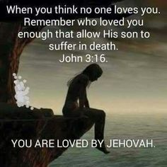 We all need to show love for another. If Jehovah can, who are we not to.