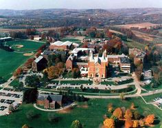 Saint Vincent College is a traditional Catholic college in rural Southwestern PA. This is where I went to school