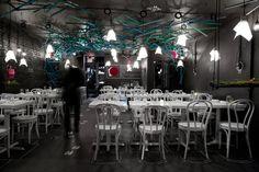What Happens When Restaurant, New York, USA Designed by:  Elle Kunnos de Voss of the Metrics