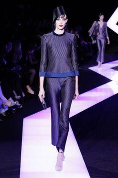 Défilé Giorgio Armani Privé : Défilé Giorgio Armani Privé Haute Couture PE 2013