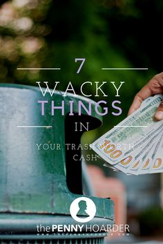 Americans throw away approximately 266 million tons of trash every year and it turns out we might as well be throwing away cash. There's a reason dumpster diving has become so popular in recent years and that's because things that you think are worth nothing often have value. - The Penny Hoarder http://www.thepennyhoarder.com/7-wacky-things-in-your-trash-worth-cash/