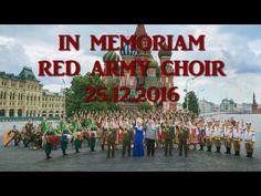 In memoriam Red Army Choir - 25.12.2016 - YouTube