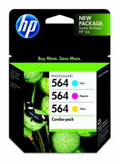 HP 564 Ink Cartridge in Retail Packagings, Combo Pack