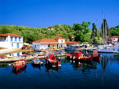 Old Trikeri small island, Messenia Prefecture, Peloponnese, Greece Places In Greece, Small Island, The Good Place, Beautiful Places, Amazing Places, Dolores Park, Travel, Greek, Landscapes