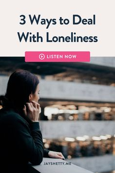 What to do when you are feeling lonely, feeling isolated and fearful? Jay Shetty shares tips and advice to help you maintain a sense of calm and peace when dealing with social distancing and stressful situations. Learn how to take advantage of solitude to focus on mindset, self-development and personal growth. Text Jay Shetty 310-997-4177. #jayshetty #onpurposepodcast #loneliness Im Lonely, Feeling Lonely, Dealing With Loneliness, Feeling Rejected, Feeling Isolated, Feeling Left Out, Love You Unconditionally, Positive Motivation, Love Yourself First
