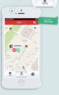 Bikester APP by Michał Sambora, via Behance