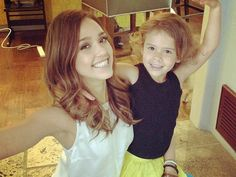 Jessica Alba-One of my role models. She's a reminder that you can have it all and still the be an awesome mom.