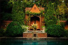 Nashville Tudor Revival Garden by Page Duke Landscape Architects