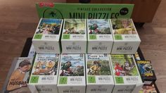 Vintage Ladybird Mini jigsaw puzzles from Lagoon Games. In Waterstones March Ladybird Books, Book Design, Make Me Smile, Jigsaw Puzzles, March, Games, Mini, How To Make, Vintage