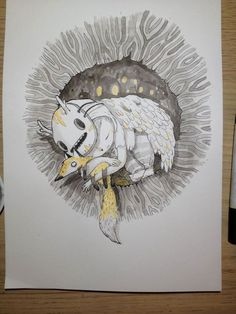 ink illustrations for Inktober. Develop my skills :)
