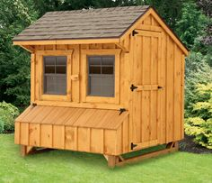 Backyard Chicken Product: Chicken Coops - Craftsman 4x6 (for 12-15 chickens) - from My Pet Chicken