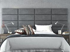 VANT Upholstered Headboards - Accent Wall Panels By- Pack... https://www.amazon.com/dp/B01B1ZVKFQ/ref=cm_sw_r_pi_dp_x_Ob79xbWG3VYC3