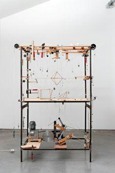 Attila Csorgo - Untitled (1 tetrahedron + 1 cube + 1 octahedron = 1 dodecahedron) Parc Saint Leger - Pougues les Eaux