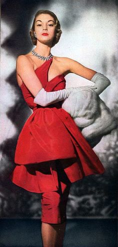 1950's Fashion Model, Jean Pachett <3