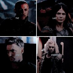 Only 4 of originals remain <<< it's funny cause in the beginning of season one you would never expect Murphy to be one of the last of the 100 Clarke E Lexa, Nathan Miller, Murphy The 100, The 100 Quotes, 100 Memes, K Om, The 100 Show, Book 1, Book Nerd