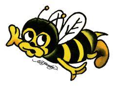 Ed Hardy Bee Tattoo