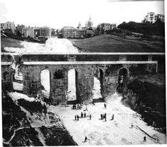 Aqueduto do Chafariz das Terras, Lisboa, c. 1949.