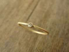 Gold Moissanite Ring - Heather's Picks - Trend Uncovet