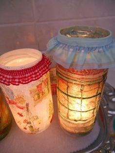 Fuxicando Ideias -  Lanternas natalinas
